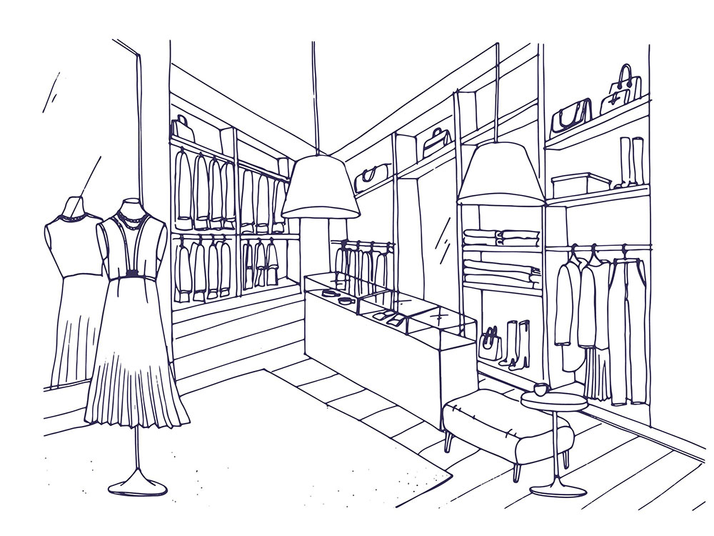 Shop Front Example Sketch